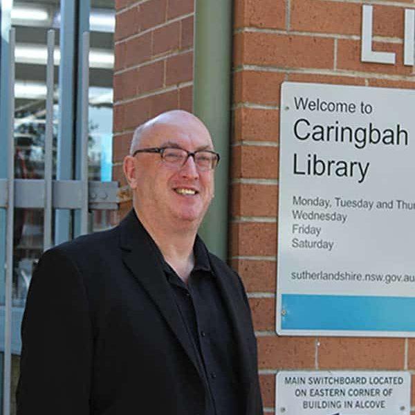 Keith at local landmark_600_720 - Keith Rowley