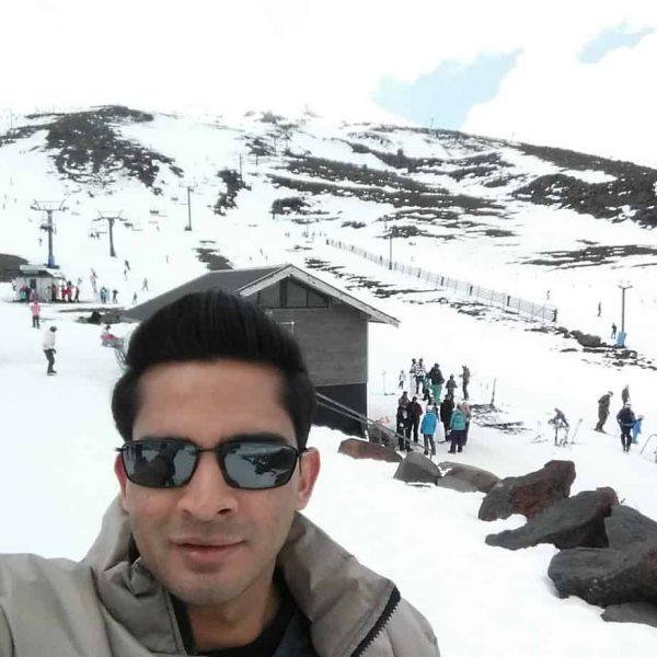 Mt Ruapehu - Kaushal Chandra